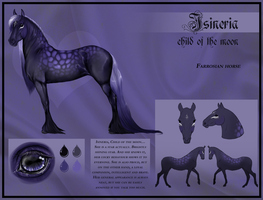 Isineria's Reference Sheet by Jasper-19