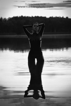 Late Lake BW by FuchsiaG