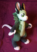 Lemongu Possum Plush by NoxxPlush