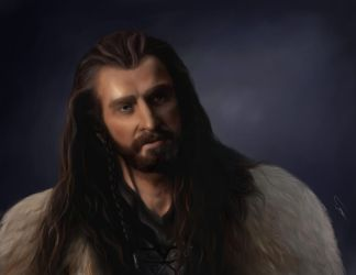 Thorin Oakenshield (The Hobbit) by Tsuhikari