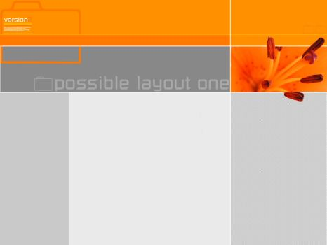 possible layout one by s-g-d
