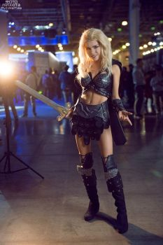 Callisto - Xena Warrior Princess by TophWei