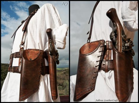 Double Holsters Harness by Adhras