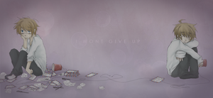 usuk :: I WONT GIVE UP // speedpaint by CaptainJellyroll