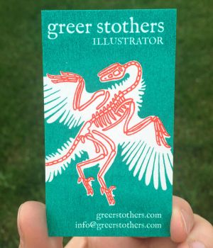 Business card by greer-stothers