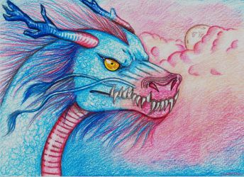 J 2-Elemental Dragons.Air Dragon by LicamtaPictures