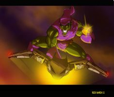 Green Goblin by Misterho