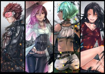RWBY - The Villains Compilation by anonamos701