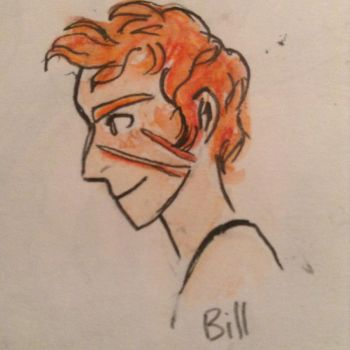 Bill Weasley by PixieBrush