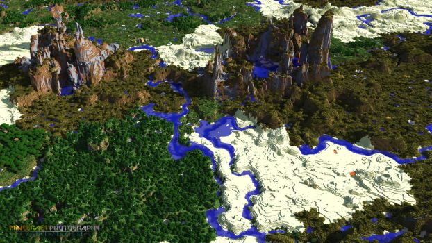 World View | Explorable Image by MinecraftPhotography