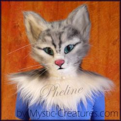 Pheline, the house cat by Mystic-Creatures