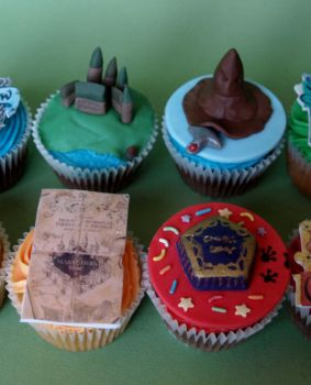 Harry Potter Cupcakes by sparks1992