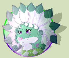 Animaljam Art - My Snow Leopard by catloversaj