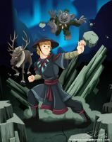 Earthbender Kristoff by racookie3