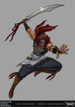 Arabian ninja warrior 07 by hamex