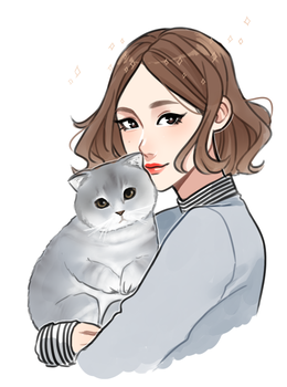 Sojung Sketch by Hyeoii