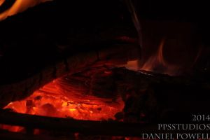 Fireplace 06 - Smoldering by dePow9999