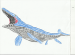 Mosasaur by Demon653
