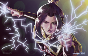Fanart: Azula from Avatar: The Last Airbender by avimHarZ