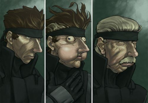 Metal Gear Senile by 2dforever