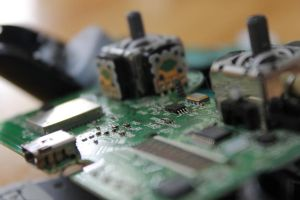 Photo5: PS3 controller from the inside by Pstrnil