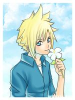 + Cloud 14 Years Old + by chibiasta