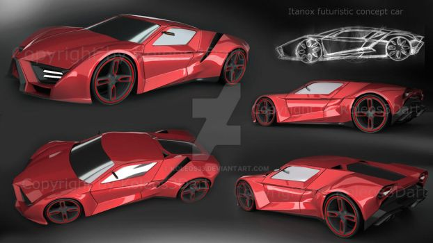 Itanox futuristic concept vehicle by koleos33