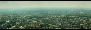 Duesseldorf Panorama by Screamer128
