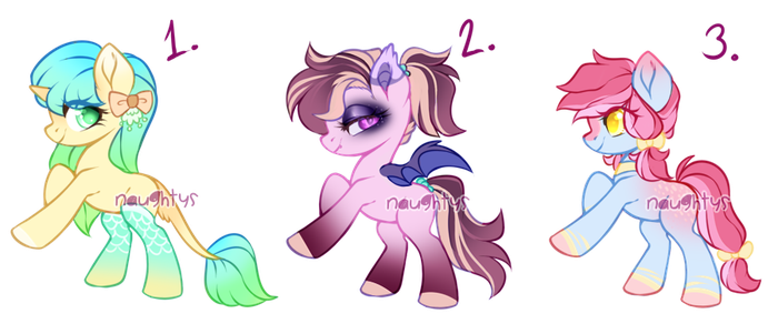 Pony Adopts (OPEN) by Naughty-Savage