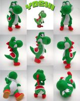 Super Smash Bros Yoshi Sculpture by Daimyo-KoiKoi
