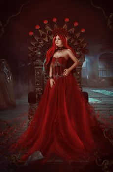 Queen Dracula by charmedy