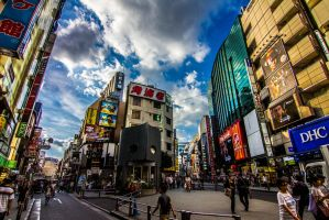 Shibuya District by TimGrey
