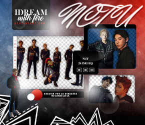 Pack Png 455 | NCT U | #1 by IDreamWithFire