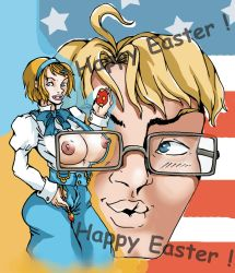 AHP-Happy Easter by syn-snow