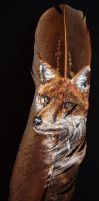Fox Feather by JenTheThirdGal