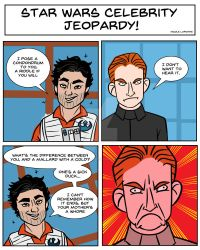 Star Wars Jeopardy: Your Mother's a Whore by greensprout