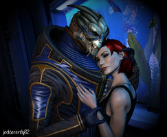 No Shepard without Vakarian {Mass Effect} by jediserenity82