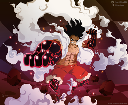 One Piece 895 - Luffy Snakeman by Melonciutus