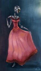 Robot with dress by zgul-osr1113