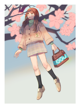 Waiting for spring by peyoberry