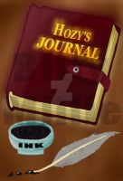 Hozy's Journal Cover by BittyMillie
