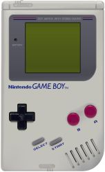 Realistic Nintendo Gameboy Vector by the-manwaring
