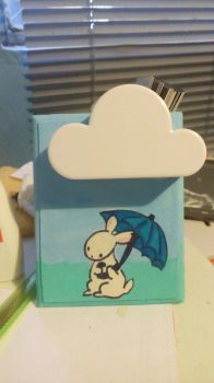 Bunny and the Cloud by Minako001