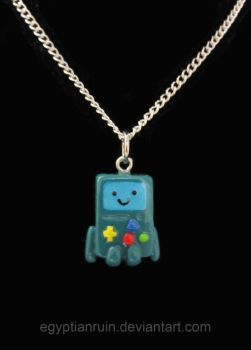 Beemo Necklace by egyptianruin