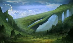 Ang-Malg Mountains by Concept-Cube