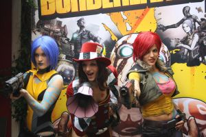 The girls of Borderlands by LuceCosplay