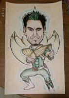 Jason David Frank (Green Ranger) Charicature by Savai