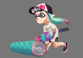 My Inkling Character by milkyleaf