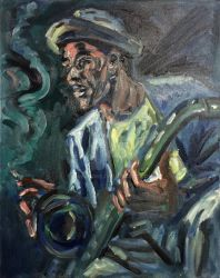 Sax Player by valangre