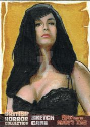Blood from the Mummy's Tomb Sketch Card 3 by westleyjsmith
